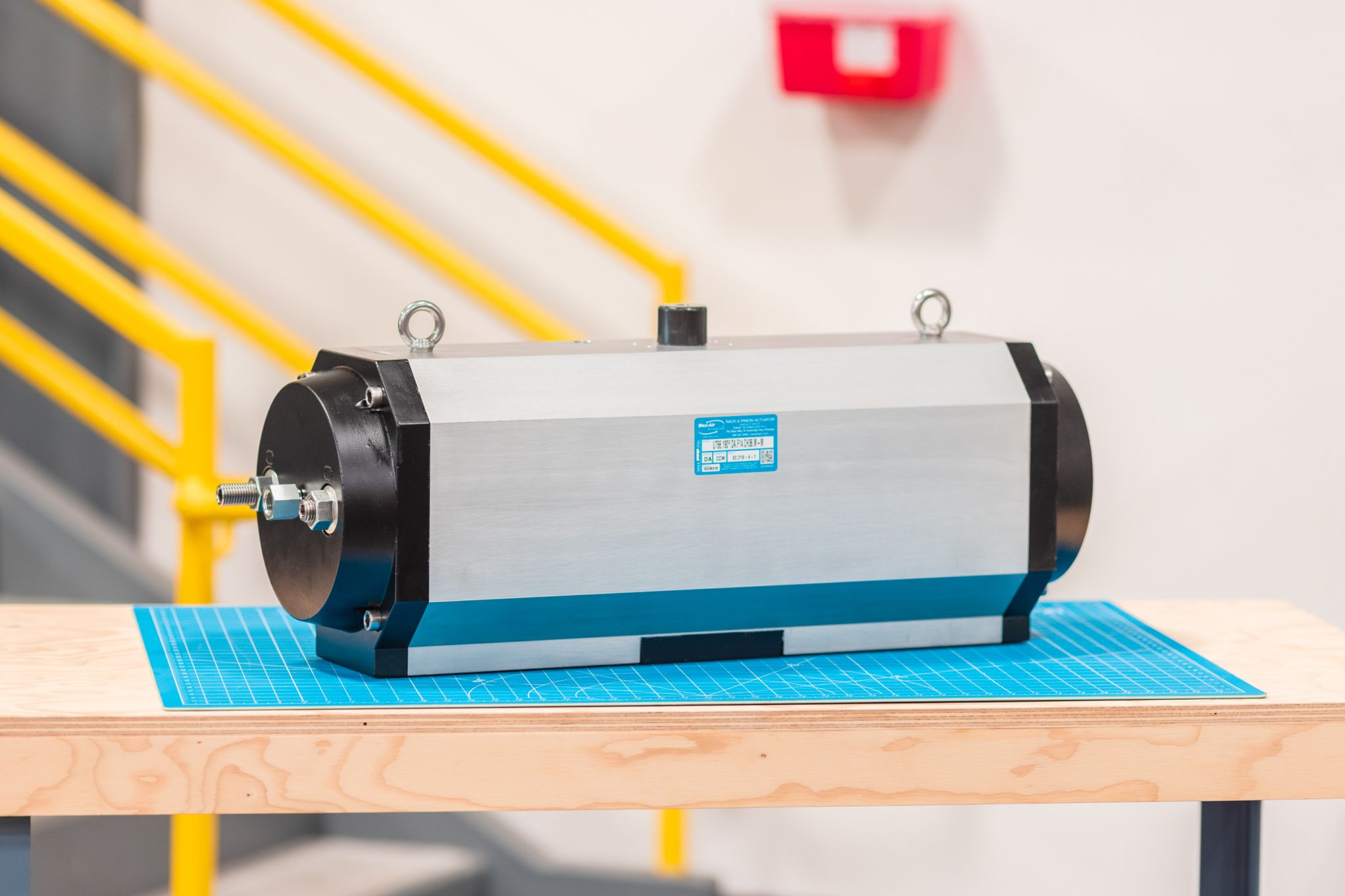 Fast Acting 180° Rack & Pinion Actuator