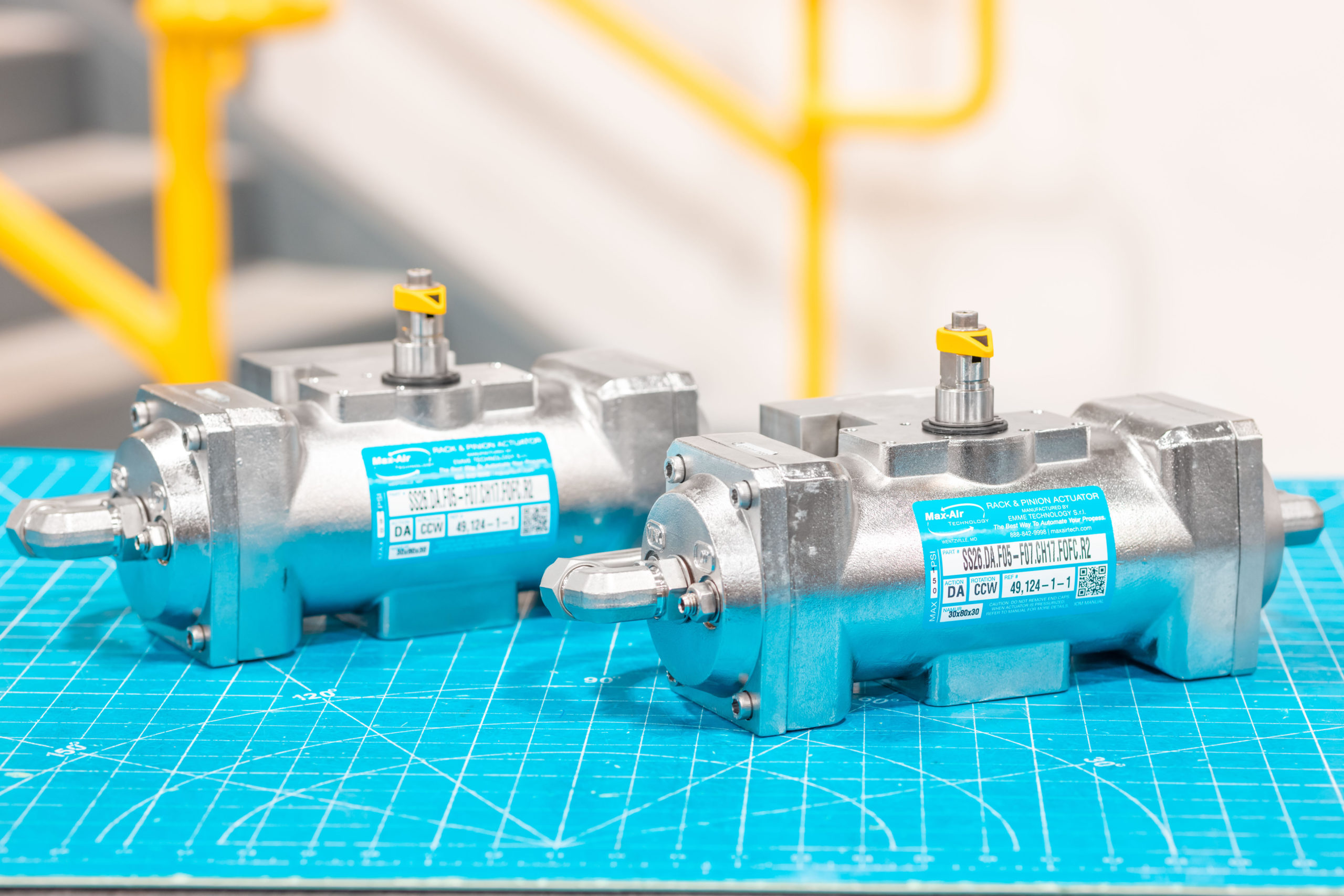 Stainless Steel Actuators That Operate on Seawater
