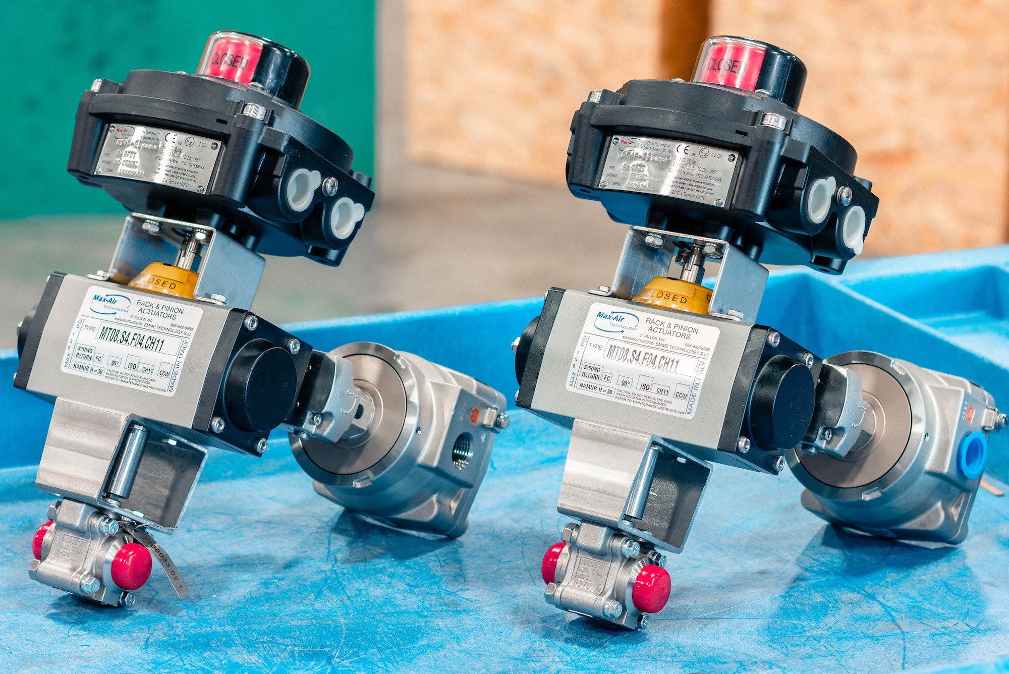 Flameproof 1/2″ 3-Pc Ball Valve Assembly