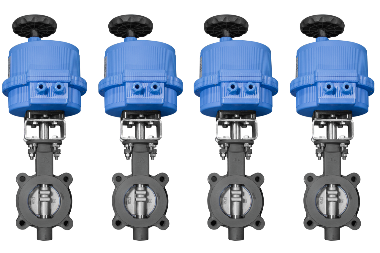 Electrically Actuated High Performance Butterfly Valves