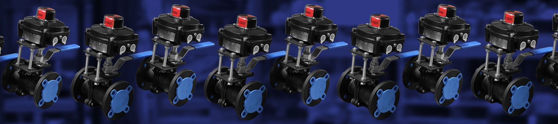 Manual Ball Valves w/ XP Limit Switches