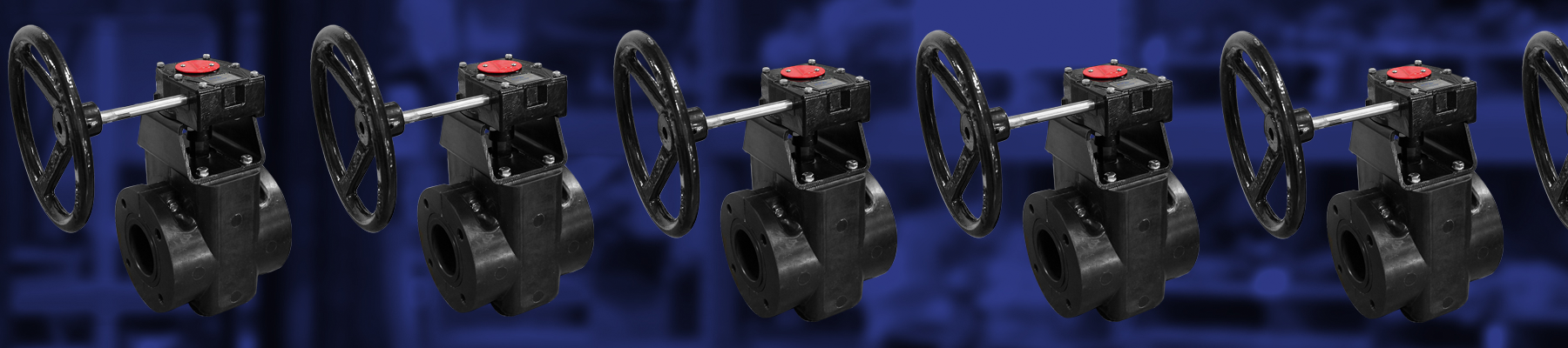Handwheel Operated Rotary Pinch Valve