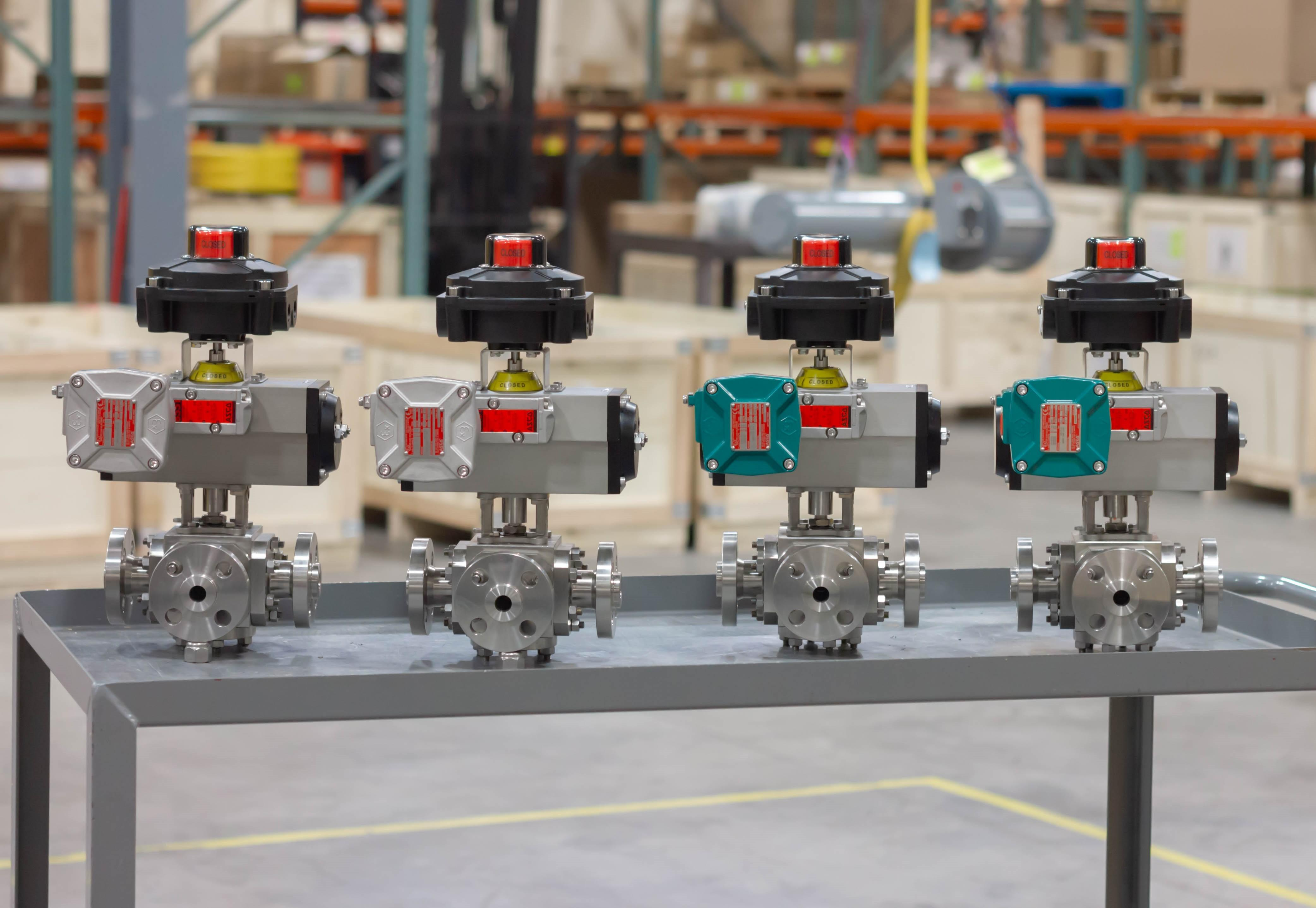 1/2″ L-PORT Class 600 Sesto Ball Valves w/ Flame Proof Solenoids