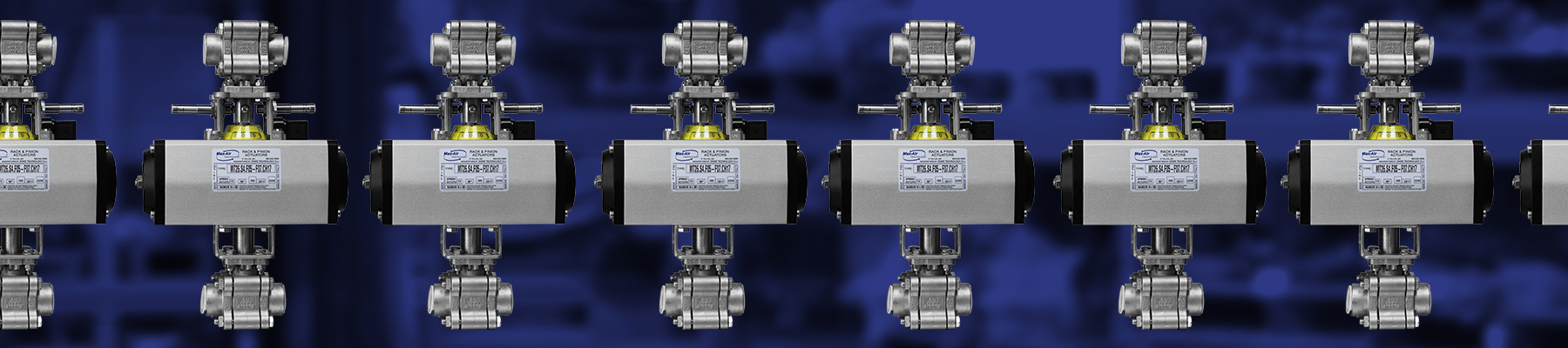 "¾"" Tandem Ball Valve Assembly"